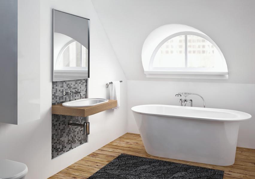 Mała łazienka po norwesku