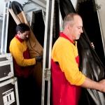 DHL Instrumententransport für das Gewandhausorchester Leipzig