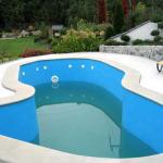 Garden realizacja basenu zewne¦Ętrznego