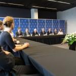EEC 2015 prezydent Komorowski na spotkaniu z mlodzieza