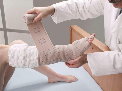 bandaże uciskowe