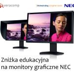 Zniżka edukacyjna na monitory graficzne NEC