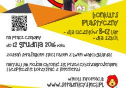 """Ogólnopolski konkurs plastyczny """"Strażnicy Sieci"""""""