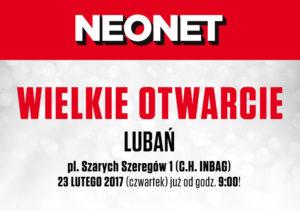 NEONET otwiera nowy salon w Lubaniu