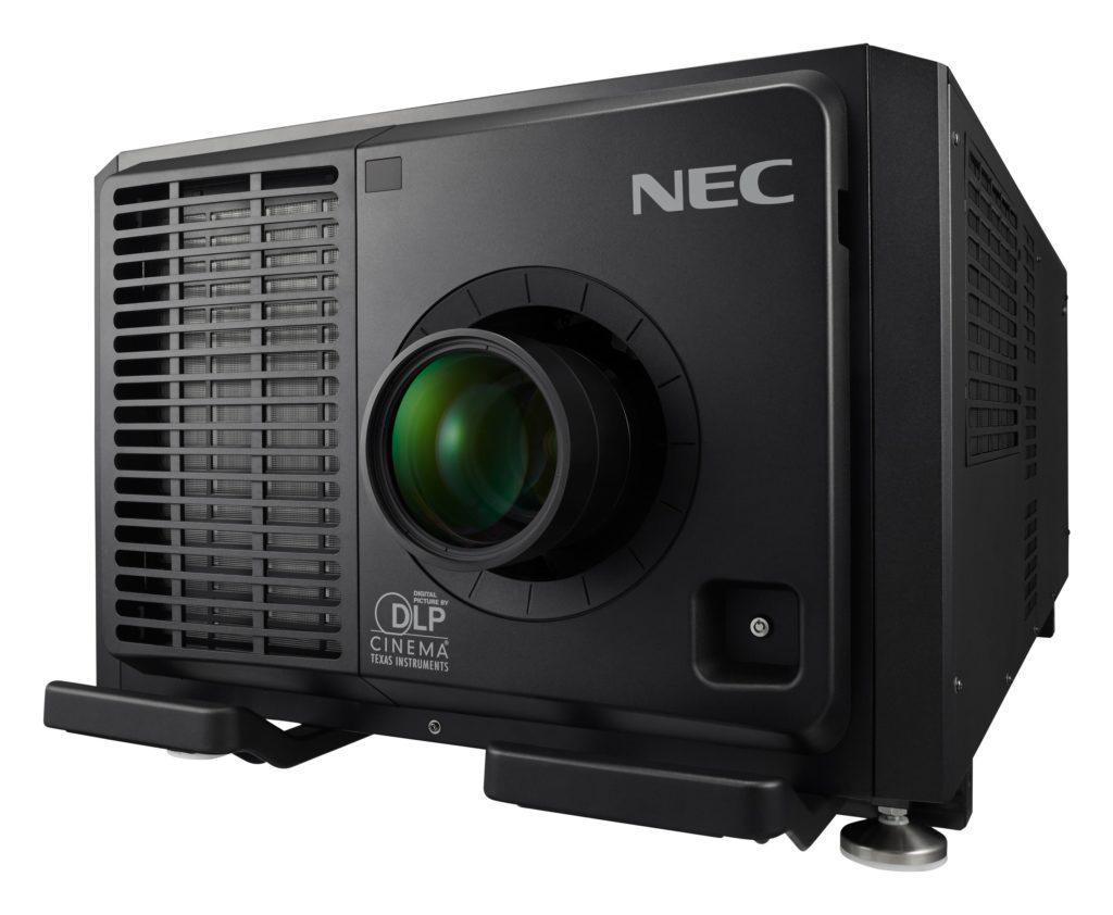 Nowy projektor NEC NC3541L dla dużych kin
