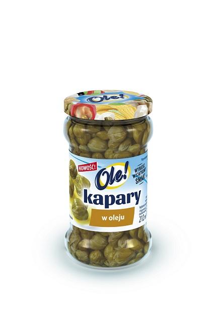 Kapary w oleju OLE! czyli smak Prowansji