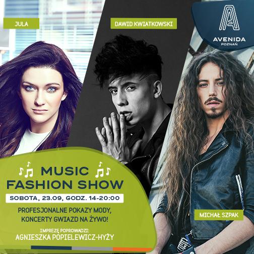 Music Fashion Show w Avenidzie Poznań