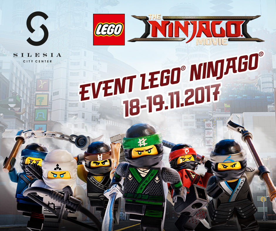 LEGO® NINJAGO® w Silesia City Center