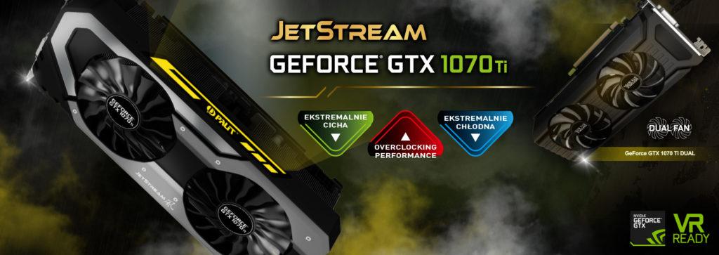 Palit wprowadził serię GTX 1070Ti!
