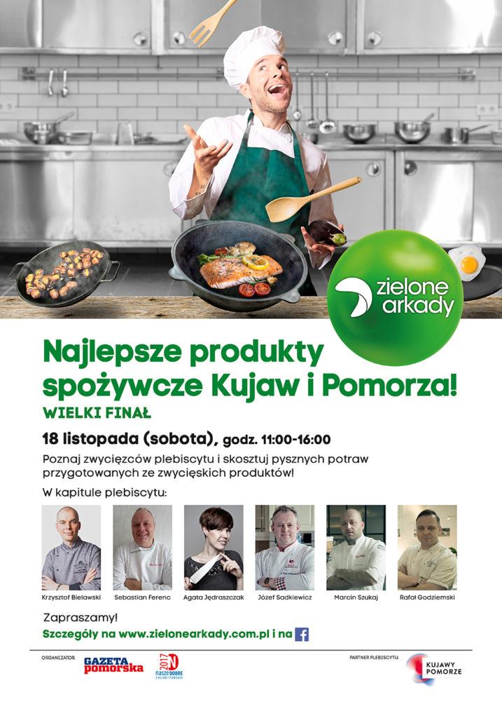 Skosztuj najlepszych produktów regionalnych w Zielonych Arkadach