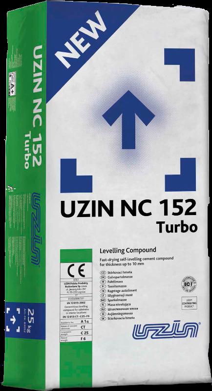 NOWOŚĆ 2018: szybka cementowa masa szpachlowa UZIN NC 152 Turbo