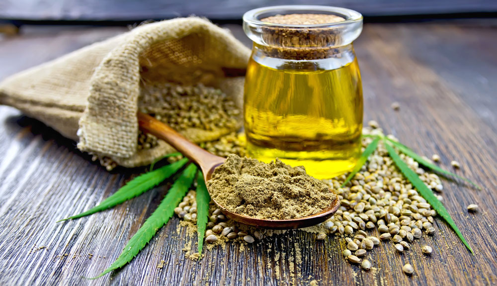 Zdrowie w olejku z konopi