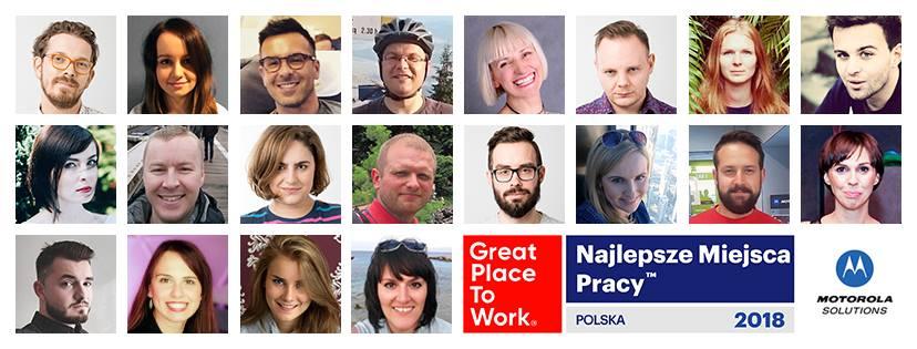 Krakowska Motorola Solutions to wyjątkowe miejsce pracy
