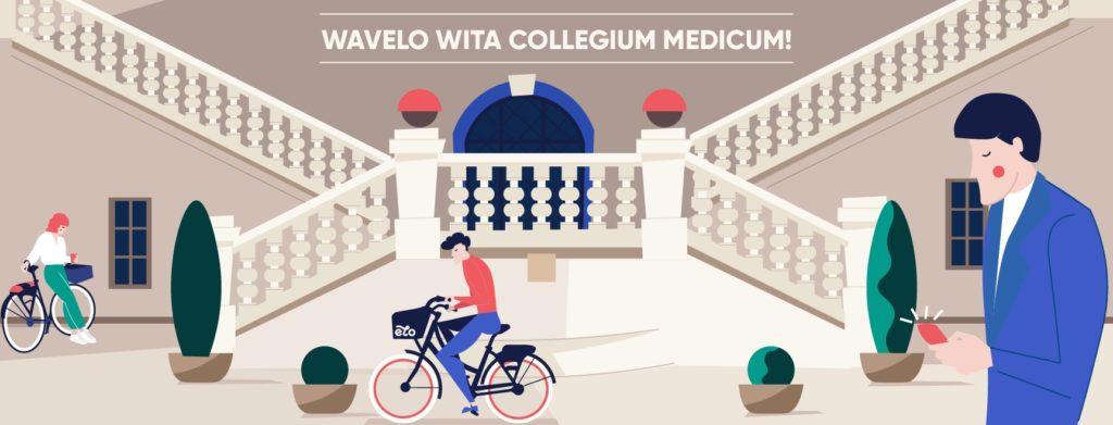 Studenci na rowery! Wavelo we współpracy z Uniwersytetem Jagiellońskim – Collegium Medicum
