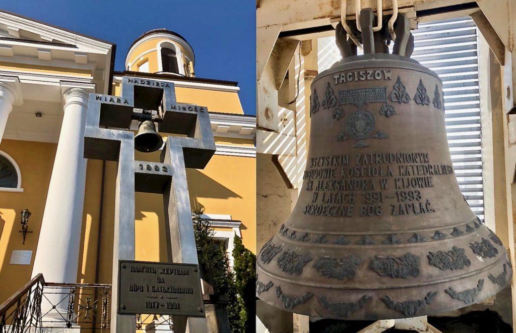 Po latach ciszy znów zabrzmią dzwony konkatedry w Kijowie