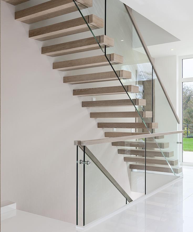 Mniej znaczy więcej – w przypadku schodów