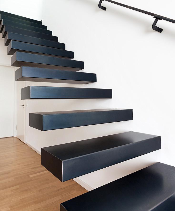 Nowoczesne materiały, z których powstają schody