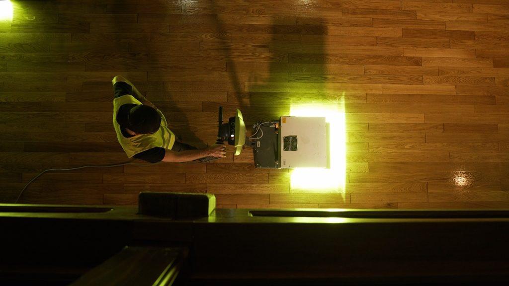 Parkiet w Wieliczce zyskał drugie życie dzięki technologii UV
