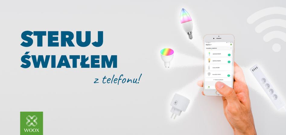 Steruj światłem przez smartfon bez dodatkowych remontów!