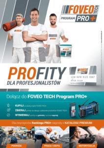 Nowa odsłona programu FOVEO-TECH Program PRO+ dla PROfesjonalistów – dołącz już teraz i spełnij swoje marzenia!