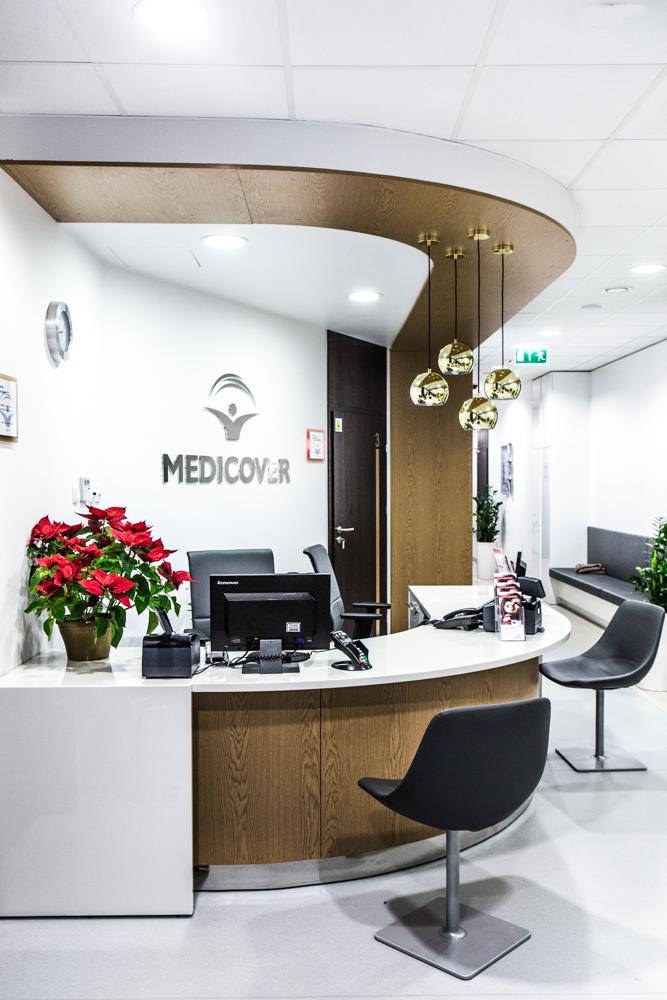 Klinika dentystyczna w nowoczesnej i komfortowej odsłonie – projekt Forbis Group dla Medicover przełamuje stereotypy
