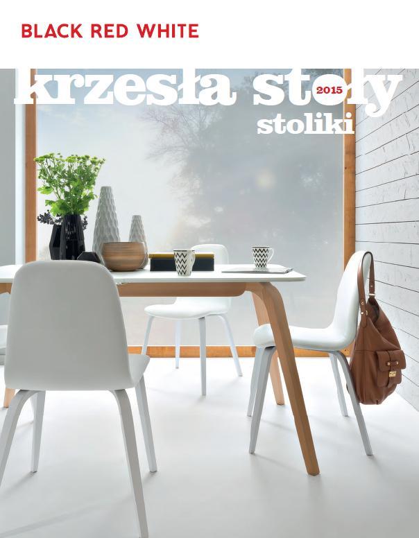 Bogaty wybór krzeseł, stołów i stolików w Black Red White