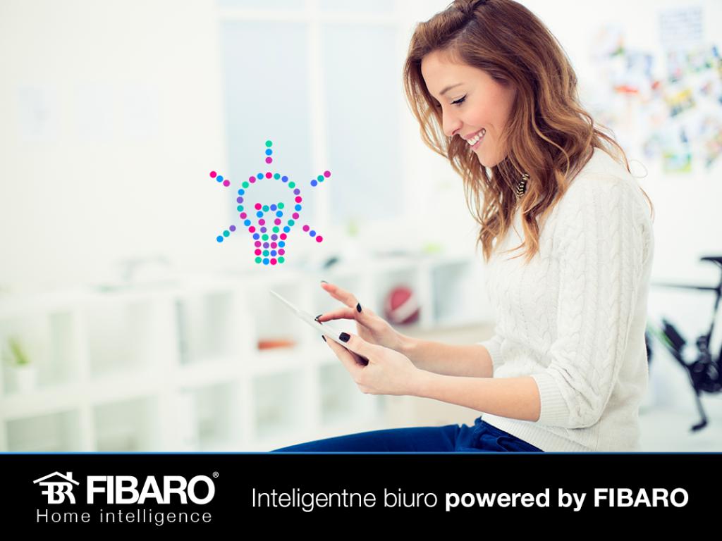 """""""Inteligentne biuro powered by FIBARO"""" w nowej ofercie Netii"""
