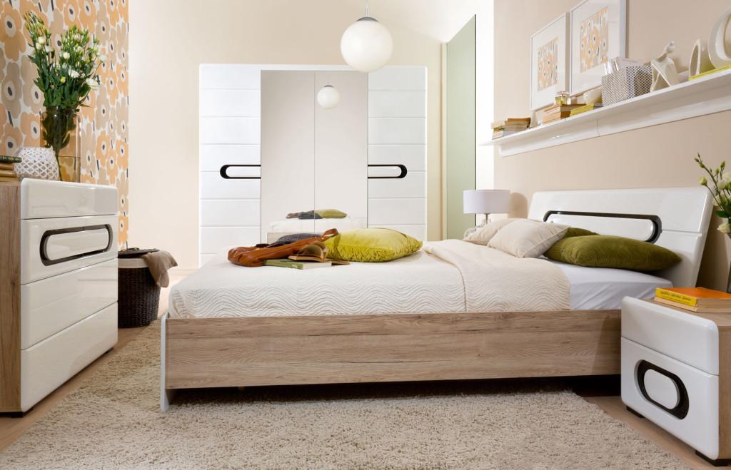 Nowa sypialnia Byron od Black Red White