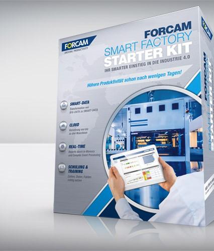 Smart Factory Starter KIT – nowy produkt w ofercie Forcam