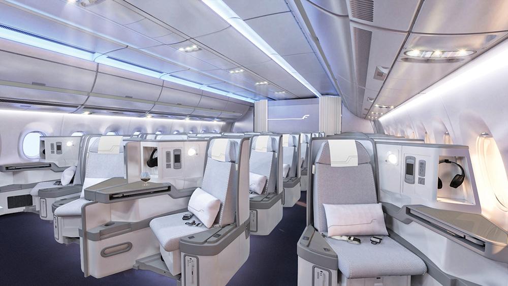 Komfort pasażerów i wyjątkowa fińska estetyka w nowym Airbusie A350 XWB Finnaira