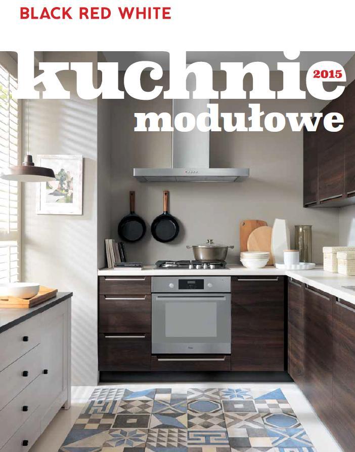 nowa oferta kuchni modu�owych black red white adaria