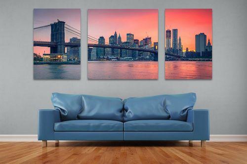 Jak duże zdjęcia mogą zdobić ściany?