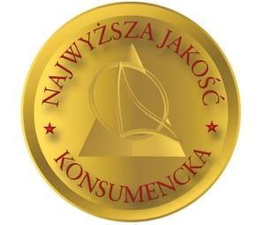Złote Logo Najwyższa Jakość Konsumencka