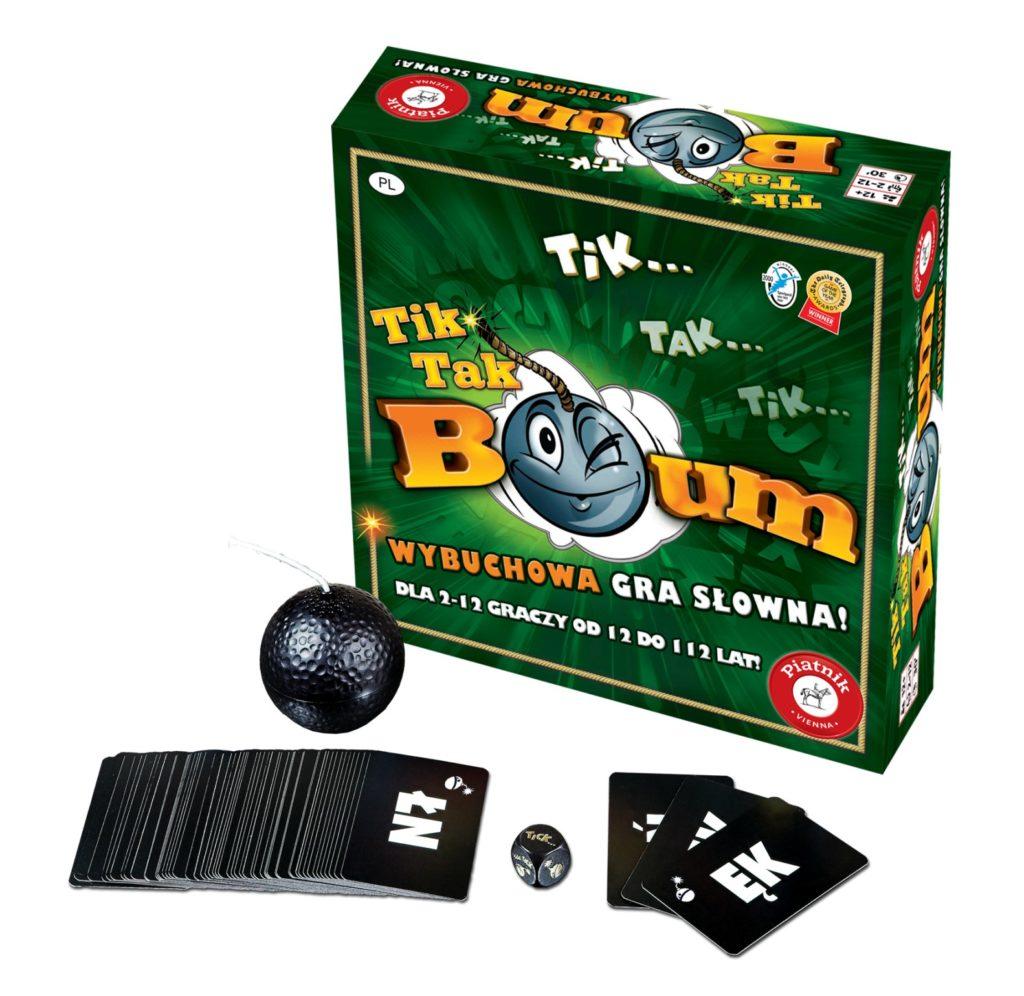 Tik Tak BUM i Tik Tak BUM Junior wybuchowe gry w nowej odsłonie