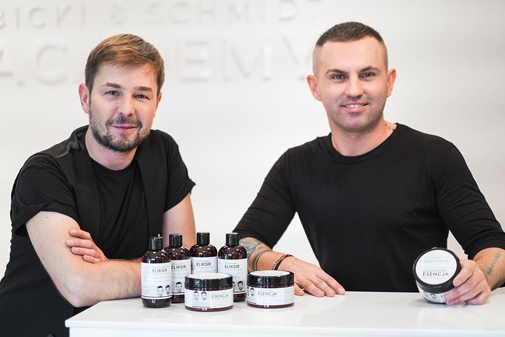 Wierzbicki i Schmidt z własną marką kosmetyków