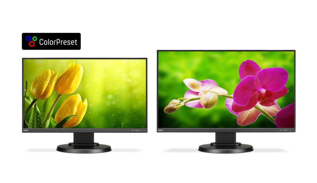 Monitory NEC w wersji Color Preset. Atrakcyjne cenowo narzędzie dla amatorów fotografii i grafiki
