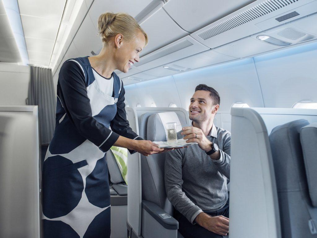 APEX wyróżnia Finnaira czterema gwiazdkami światowych linii lotniczych, na podstawie opinii klientó