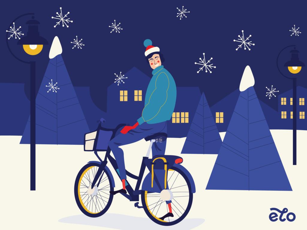 Rowery miejskie w grudniu? Oczywiście, tylko w Krakowie!