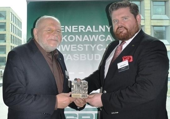 F.B.I. TASBUD S.A. otrzymała prestiżową nagrodę TopBuilder za Generalne Wykonawstwo Domu Kultury KADR