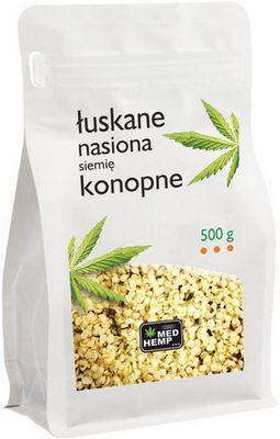 nasiona (siemię) konopne