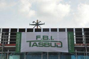 F.B.I. TASBUD S.A. zawiesiła wiechę nad osiedlem Moderna etap 3