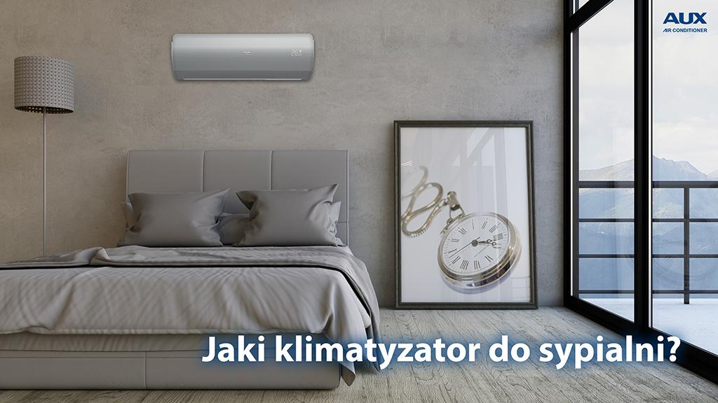 Jaki klimatyzator do sypialni?