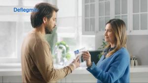 deflegmin kampania reklamowa