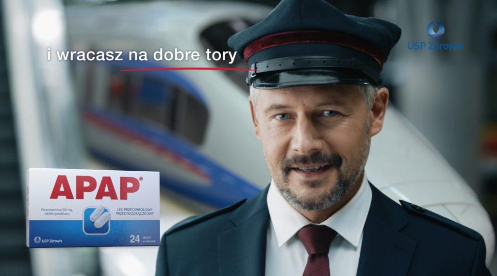 APAP w nowym spocie stawia na szybkość