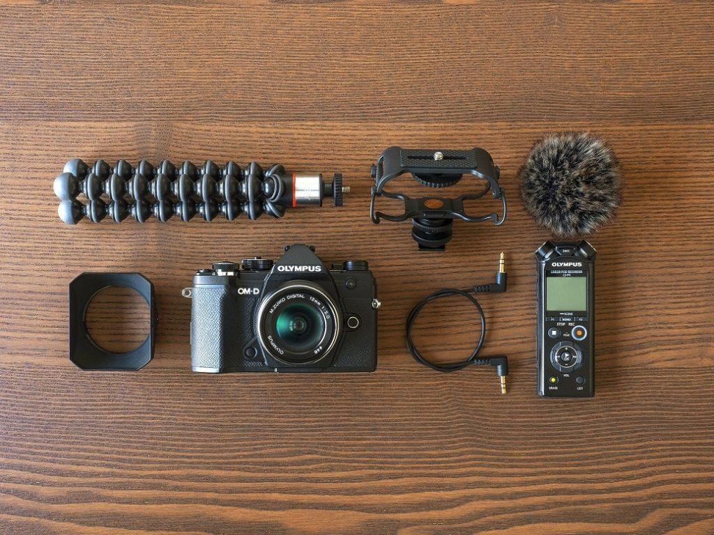 Olympus prezentuje nowe zestawy z aparatem OM-D E-M5 Mark III